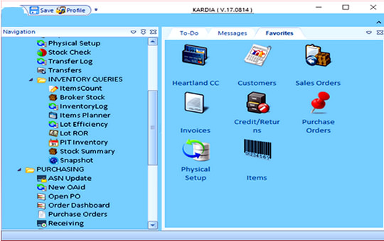 Kardia Solutions Software homepage print screen image