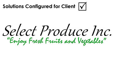 Select Produce Wholesale Foods logo